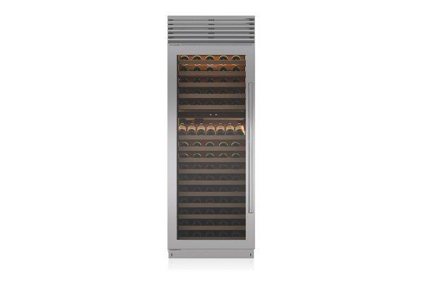 """Large image of Sub-Zero 30"""" Left Hinge Built-In Wine Refrigerator - BW30STHLH"""