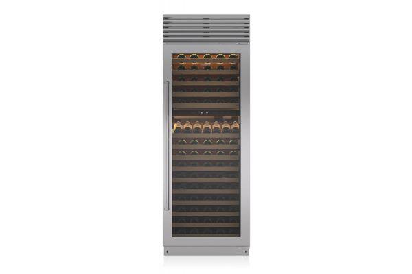 "Large image of Sub-Zero 30"" Right Hinge Built-In Wine Refrigerator - BW30STHRH"