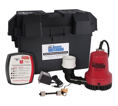Basement Watchdog Battery Backup Sump Pump BWE