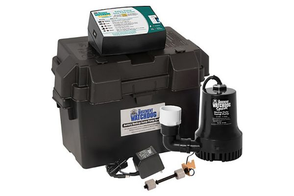Large image of Basement Watchdog Special CONNECT Backup Battery Operated Sump Pump - BWSP