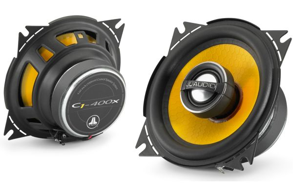 """Large image of JL Audio 4"""" Coaxial Speaker System (Pair) - 99040"""