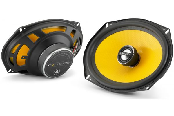 "Large image of JL Audio 6 x 9"" Coaxial Component Speaker System (Pair) - 99045"