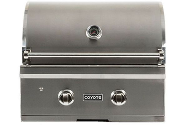 "Large image of Coyote 28"" Stainless Steel Built-In C-Series Liquid Propane Gas Grill - C1C28LP"
