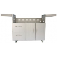 "Coyote 42"" Stainless Steel Grill Cart"