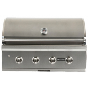 "Coyote 36"" Stainless Steel Built-In C-Series Liquid Propane Grill"