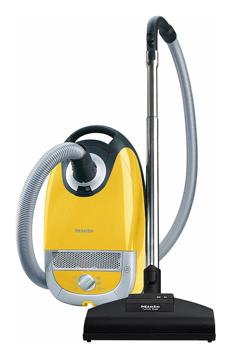 Miele Complete C2 Powerline Yellow Canister Vacuum C2ltd