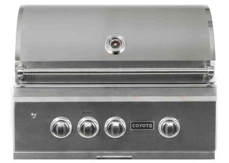 """Coyote 30"""" Stainless Steel Built-In S-Series Liquid Propane Gas Grill - C2SL30LP"""
