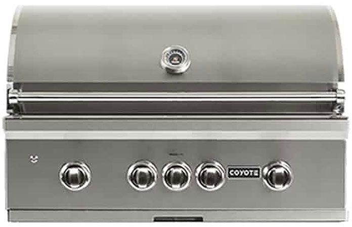 Coyote 36 Stainless Steel Built In Natural Gas Grill C2sl36ng