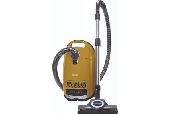 Large image of Miele Complete C3 Calima Yellow Canister Vacuum - 10796510