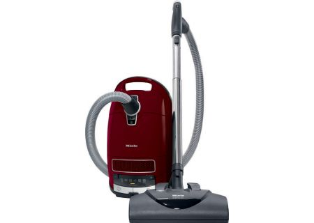 Miele Complete C3 Tayberry Red Canister Vacuum - 41GFE039USA