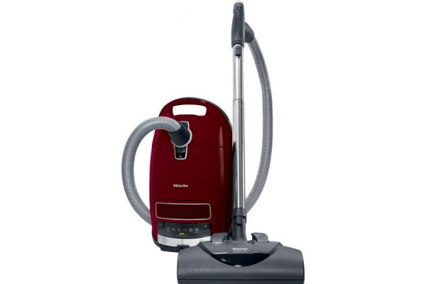 Large image of Miele Complete C3 Tayberry Red Canister Vacuum - 10292940