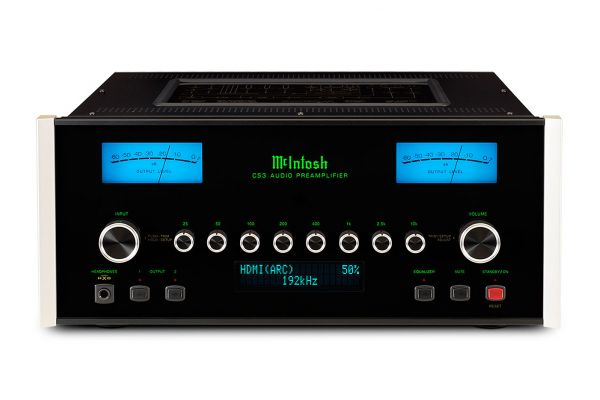 Large image of McIntosh Black 2-Channel Solid State Preamplifier - C53
