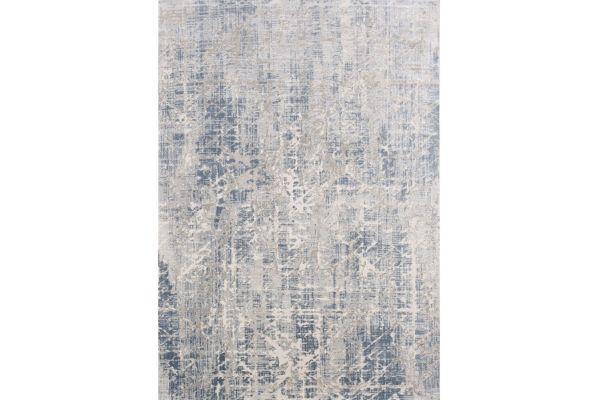 """Large image of Kalora Harmony 5'3"""" X 7'7"""" Gray Blue Rug - C587/0434 160230"""