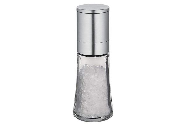 Frieling Bari Stainless Steel And Glass Salt Mill - C613292