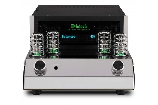 Large image of McIntosh 2-Channel Vacuum Tube Preamplifier - C8
