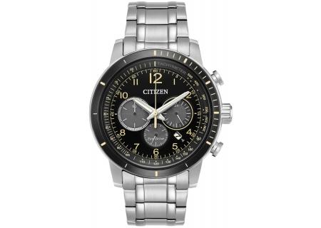 Citizen Eco-Drive Silver Tone Brycen Mens Watch - CA4358-58E