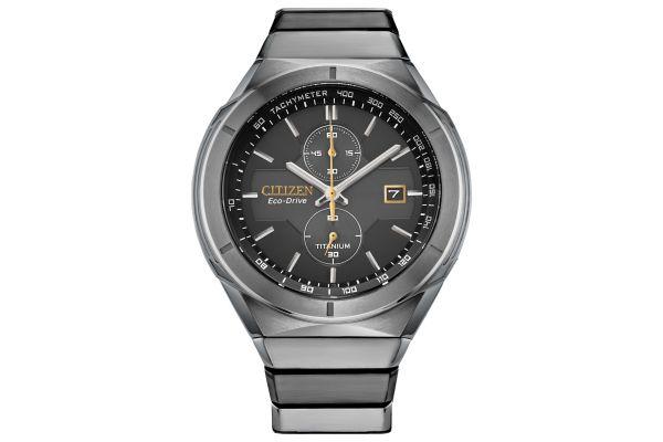 Large image of Citizen Super Titanium Armor 44mm Men's Watch - CA705855E