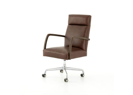 Four Hands Abbott Collection Havana Brown Bryson Desk Chair - CABT-60-037