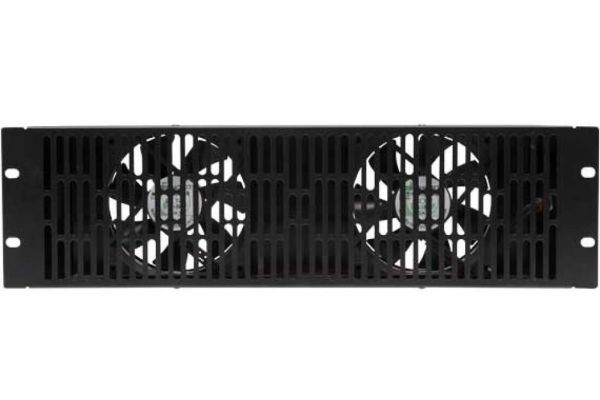 Large image of Sanus 3U Ultra Quiet Fan EcoSystem Accessory - CAFQ01-B1