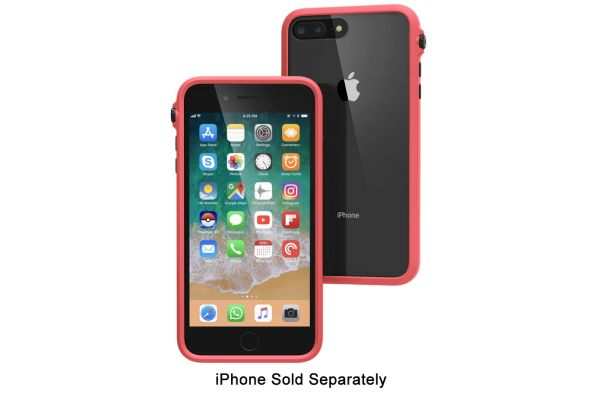 Large image of Catalyst Coral Impact Protection Case For iPhone 8 / 7 / SE (2020) - CATDRPH8COR