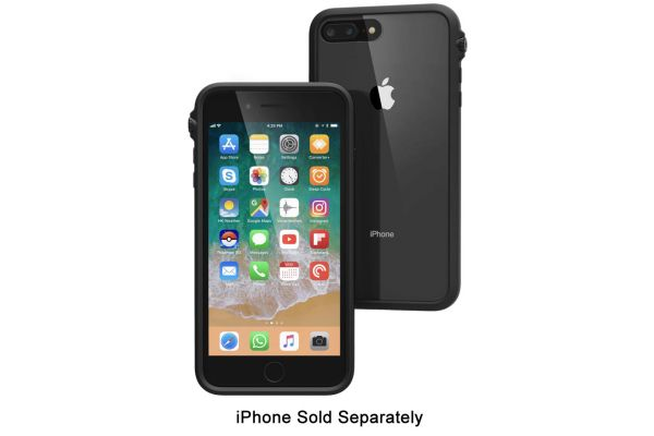 Large image of Catalyst Stealth Black Impact Protection Case For iPhone 8 Plus / 7 Plus - CATDRPH8+BLK