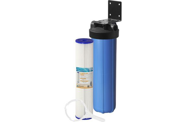 "Large image of APEC All Purpose 20"" BB Sediment Water Filter Bundle - CB1-SED20-BB"