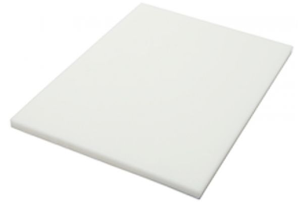 Large image of The Galley White Resin Upper-Tier Cutting Board - CB-12-U-WH