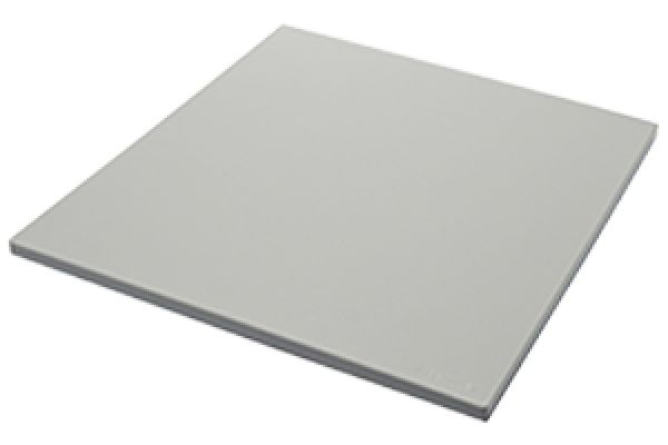 Large image of The Galley Grey Resin Dual-Tier Cutting Board - CB-17-D-GR