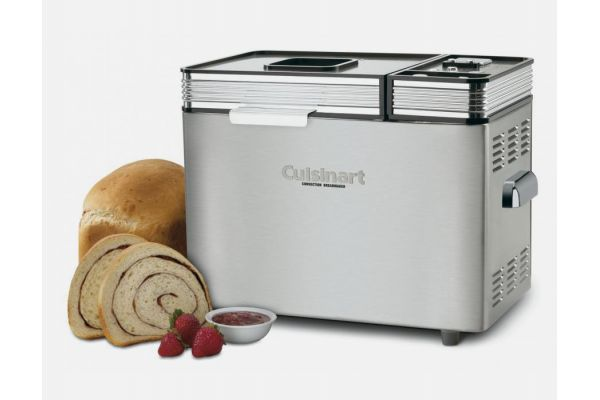 Large image of Cuisinart Convection Stainless Steel Bread Maker - CBK-200