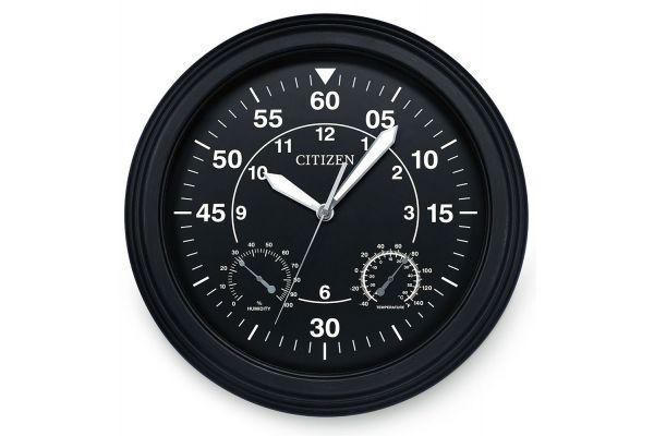 Citizen Outdoor Black Circular Clock - CC2016
