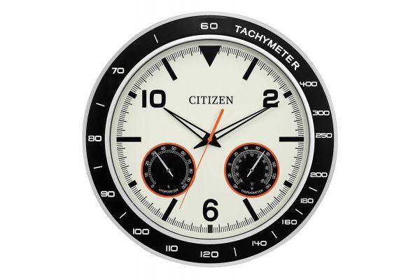 Large image of Citizen Outdoor Circular Wall Clock - CC2019