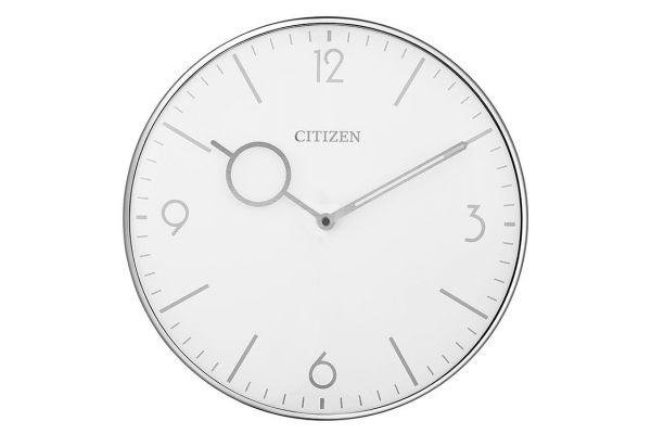 Citizen Silver-Tone Wall Clock - CC2038