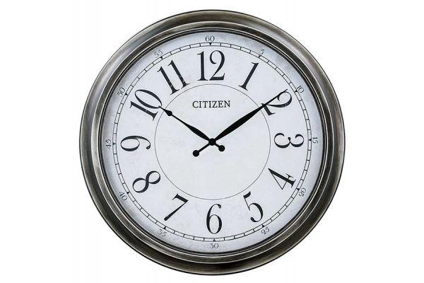 Citizen White Wall Clock - CC2048