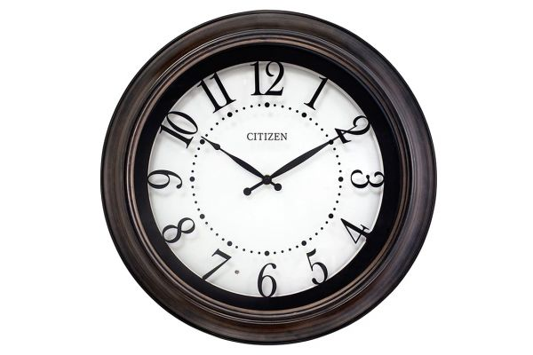 Large image of Citizen Gallery White Wall Clock - CC2053