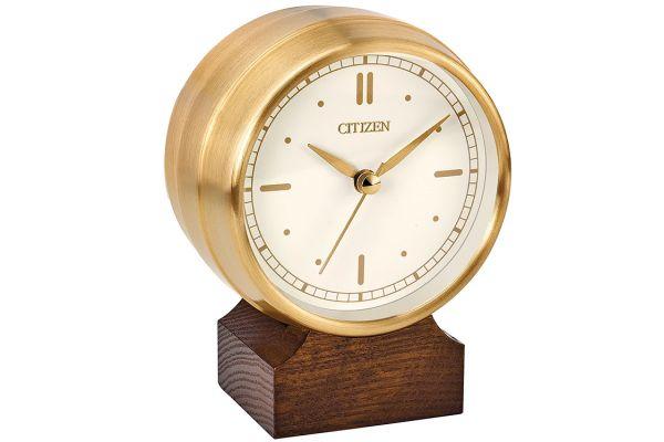 Large image of Citizen Gold-Tone Desk Clock - CC3002