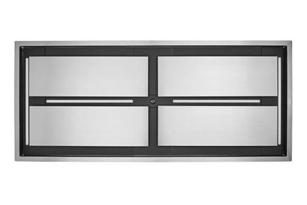 "Large image of Best Cirrus Grande 63"" Brushed Stainless Steel Ceiling Mount Range Hood - CC34IQT63SB"