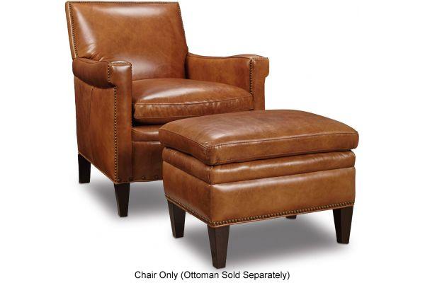 Large image of Hooker Furniture Living Room Jilian Club Chair - CC419-085