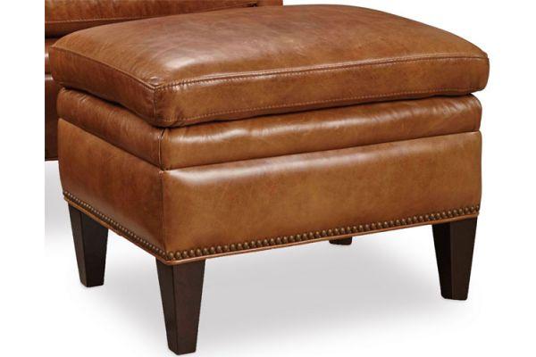 Large image of Hooker Furniture Living Room Jilian Ottoman - CC419-OT-085