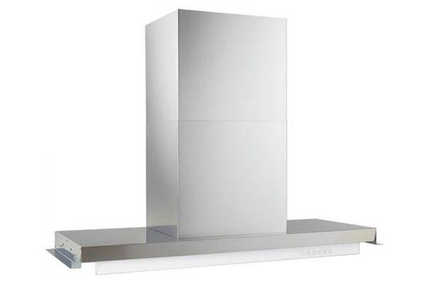 "Large image of Best Riporre 34"" Brushed Stainless Steel Chimney Hood - CC45E90SB"