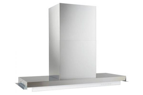 "Large image of Best Riporre 34"" Brushed Stainless Steel Chimney Hood - CC45I90SB"