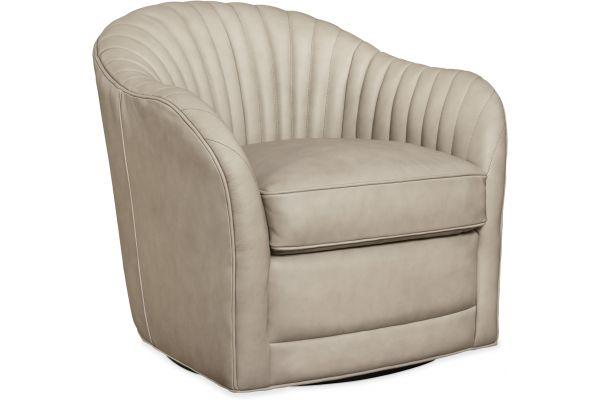 Large image of Hooker Furniture Living Room Nereid Swivel Chair - CC572-SW-081