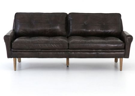 Four Hands Carnegie Collection Bain Leather Sofa - CCAR-012W-326