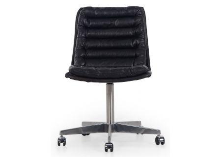 Four Hands Carnegie Collection Malibu Rider Black Desk Chair - CCAR-019-RBK