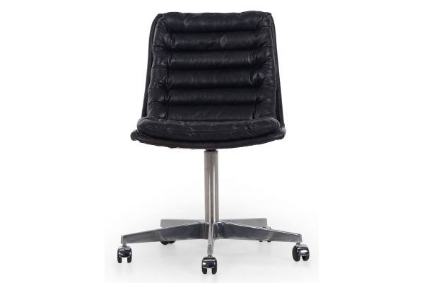 Four Hands Carnegie Collection Malibu Rider Black Desk Chair - CCAR-019-RBK