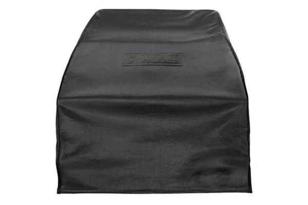 Large image of Lynx Black Napoli Outdoor Oven Carbon Fiber Vinyl Cover - CCLPZA