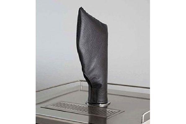Large image of Lynx Beverage Dispenser Tower / Tap Head Carbon Fiber Vinyl Cover - CCTWR