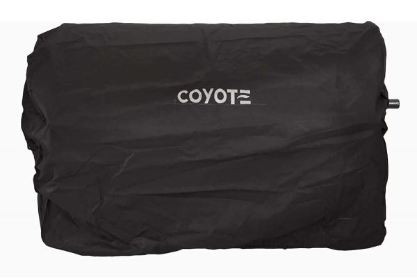 "Large image of Coyote 28"" Built-In Pellet Grill Cover - CCVR28P-BI"
