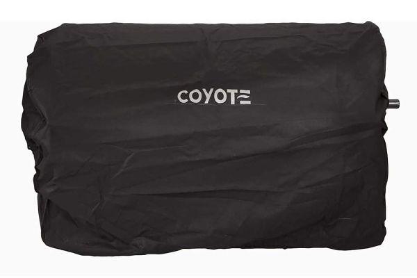 "Large image of Coyote 36"" Built-In Pellet Grill Cover - CCVR36P-BI"