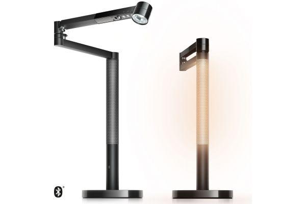 Large image of Dyson Lightcycle Morph Black Desk Light - 292213-01