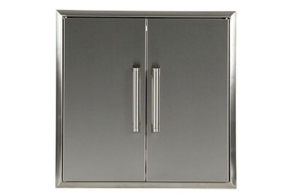 Large image of Coyote Stainless Steel Double Access Doors - CDA2426